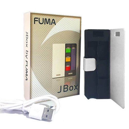FUMA   JBOX PORTABLE CHARGER FOR JUUL   1200MAH