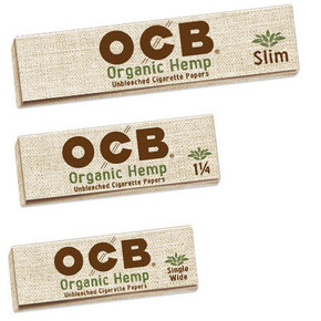 OCB ORGANIC HEMP ROLLING PAPERS | DISPLAY OF 24 BOOKLETS