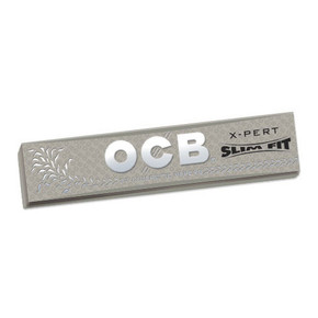 OCB X-PERT ROLLING PAPERS | DISPLAY OF 24 BOOKLETS | SLIM FIT [1OXKSS]