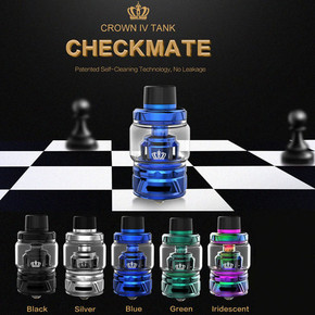 UWELL CROWN IV TANK | 28MM | 6ML/5ML | CHECKMATE EDITION