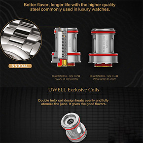 UWELL CROWN IV REPLACEMENT COILS | 4PACK