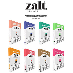ZALT PODS | PREFILLED NICOTINE SALT PODS | COMPATIBLE | 4PACK