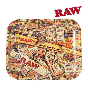 RAW METAL ROLLING TRAY | SPECIAL EDITION | LARGE