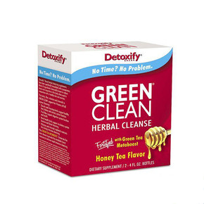 DETOXIFY GREEN CLEAN HERBAL CLEANSE | 2 X 4OZ BOTTLES