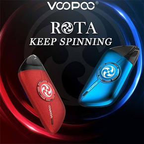 VOOPOO ROTA SPINNING POD SYSTEM KIT | WITH 1.5ML REFILLABLE POD