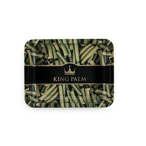 KING PALM ROLLING TRAY | MEDIUM SIZE
