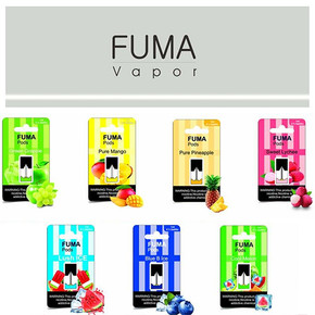 FUMA PREFILLED NICOTINE SALT REPLACEMENT POD | SINGLE 1ML POD | 60MG | DISPLAY OF 10 SINGLE PODS