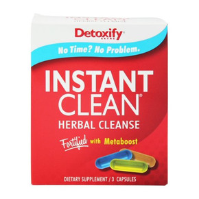DETOXIFY | INSTANT CLEAN HERBAL CLEANSE | 3 CAPSULES