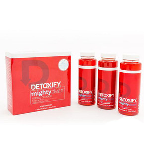 DETOXIFY | MIGHTY CLEAN HERBAL CLEANSE | 3 X 8OZ BOTTLES