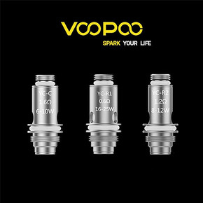 VOOPOO YC REPLACEMENT COILS FOR FINIC | 5PACK