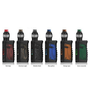VANDY VAPE | JACKAROO & 3ML/5ML SUB-OHM TANK STARTER KIT | 100W | TC | WATER RESISTANT | G10 SERIES