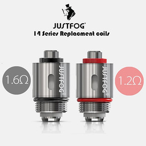 JUSTFOG 14 SERIES REPLACEMENT COILS | 5PACK