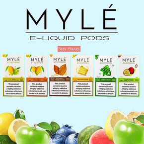 MYLE PODS | 4PACK | NEW FLAVORS