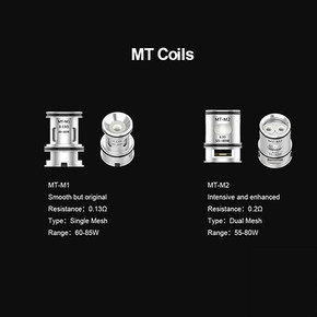 VOOPOO | MT SERIES | MAAT TANK REPLACEMENT COILS | 3PACK