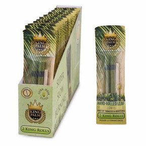 KING PALM | KING SIZE | 2PACK PRE-ROLL | PRE-PRICED $2.99 | 20 COUNT DISPLAY