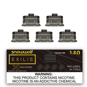 SNOW WOLF   EXILIS XPOD COIL   5PACK