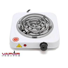 VAPOR HOOKAHS | 1000W HOT PLATE ELECTRIC CHARCOAL BURNER STOVE