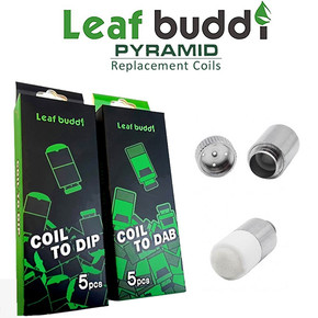 LEAF BUDDI | PYRAMID DIP & DAB REPLACEMENT COILS | 5PACK