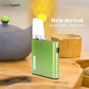 LEAF BUDDI | ANCORA DUAL CARTRIDGE DEVICE | 500MAH