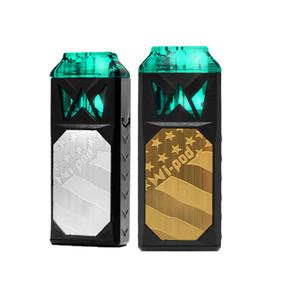 SMOKING VAPOR WI-POD SYSTEM STARTER KIT W/2 X 1ML REFILLABLE PODS | 350MAH