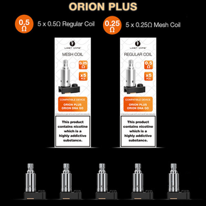 LOST VAPE | ORION PLUS REPLACEMENT COILS | 5PACK