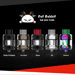 HELLVAPE X HEATHEN | FAT RABBIT SUB-OHM TANK | 2ML/5ML