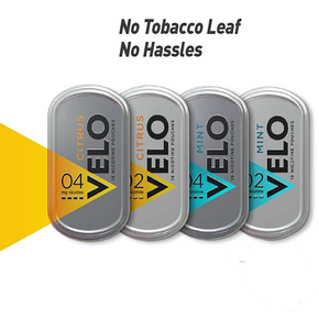VELO | NICOTINE POUCHES | DISPLAY OF 5 TINS