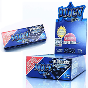 JUICY JAY'S | PAPERS | 1 1/4 SIZE | SUPERFINE | DISPLAY OF 24 PACKS