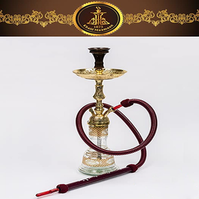 KHALIL MAAMOON | 27 INCH WORLD CUP SINGLE HOSE HOOKAH | ASSORTED COLORS (1-3206)