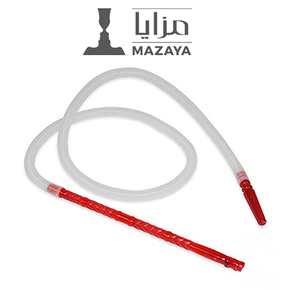 MAZAYA | 55 INCH PLASTIC HOOKAH HOSE | ASSORTED COLORS