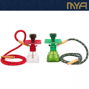 MYA | TUT 9 INCH SINGLE HOSE HOOKAH | ASSORTED COLORS