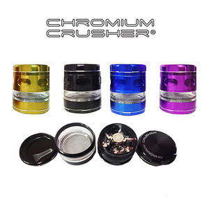 CHROMIUM CRUSHER | MULTI BLADE GRINDER WITH SEE THROUGH STORAGE AREA | 2.5"