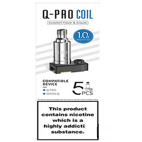 LOST VAPE | Q-PRO REPLACEMENT COILS | PACK OF 5