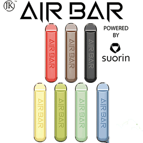 AIR BAR | PRE-FILLED DISPOSABLE POD DEVICE | POWERED BY SUORIN | 1.8ML