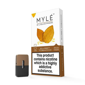 MYLE | PRE-FILLED NIC SALT PODS | 1 PACK OF 4 PODS | NEW - 0.9ml