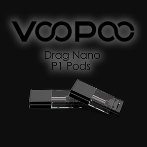 VOOPOO | DRAG NANO P1 REPLACEMENT POD | 1.6ML | 1.8OHM | PACK OF 2