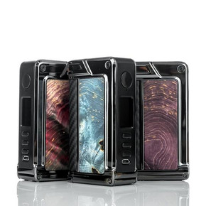 LOST VAPE | PARANORMAL DNA 250C BOX MOD | TC | GUNMETAL FRAME & STABILIZED WOOD SIDE PANEL