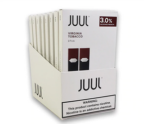 JUUL PODS   2PACK   30MG   MENTHOL   TOBACCO
