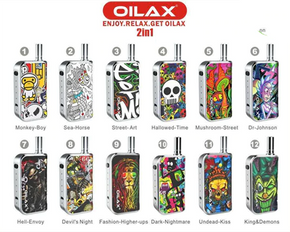 OILAX | CITO PRO 2-IN-1 PREMIUM CARTRIDGE BATTERY | 450MAH