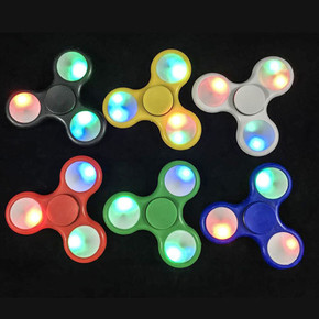 LED TRI-SPINNER WITH SWITCH LIGHTS