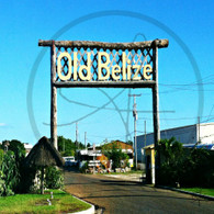 Big Old Belize Sign