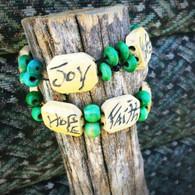 Bamboo Bracelet Green