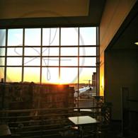 Cedar Rapids Airport Sunrise