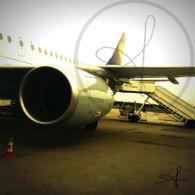Frankfurt Airport Airplane
