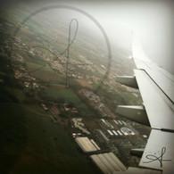 Overhead Munich to Budapest