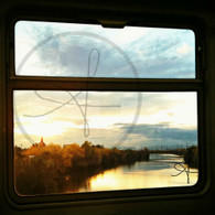Sunset from Tram