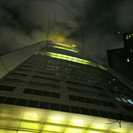 Frankfurt  Euro Tower at Night