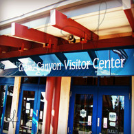 Grand Canyon Visitor Center Doors