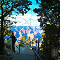 Stairs to Grand Canyon Lookout