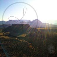 Sun Streaks Sedona Valley